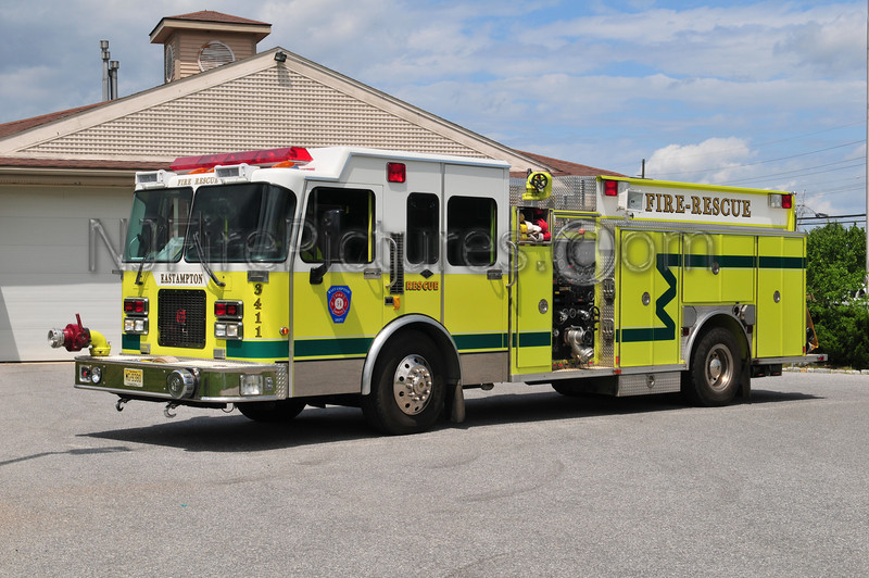 Eastampton Engine 3411 - 1996 Spartan/Southern Coach 1500/1000/50/50
