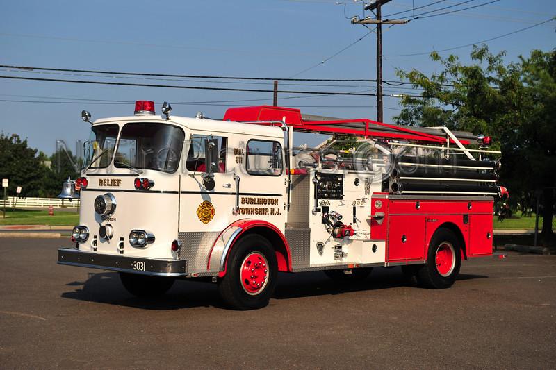 BURLINGTON TWP (RELIEF FIRE CO) ENGINE 3031