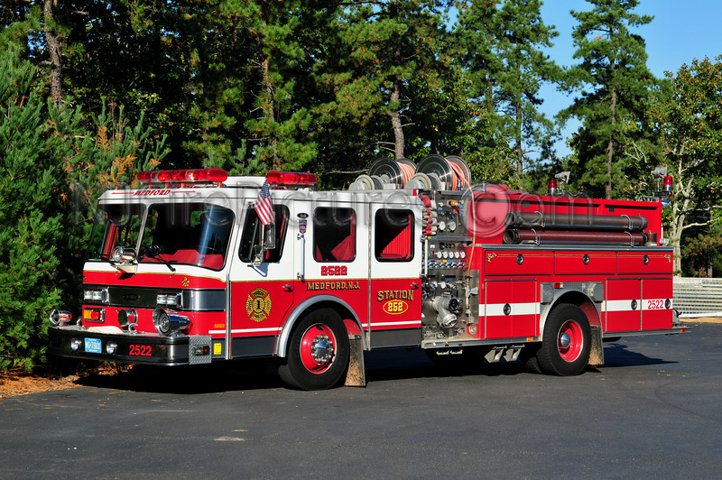 MEDFORD, NJ ENGINE 2522 - 1992 EMERGENCY ONE 1250/500