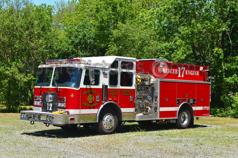 SOUTHAMPTON TWP, NJ VINCENTOWN ENGINE 1712