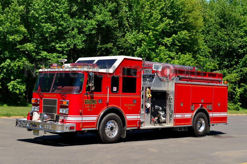 MANSFIELD TWP, NJ FRANKLIN FIRE CO. ENGINE 3312