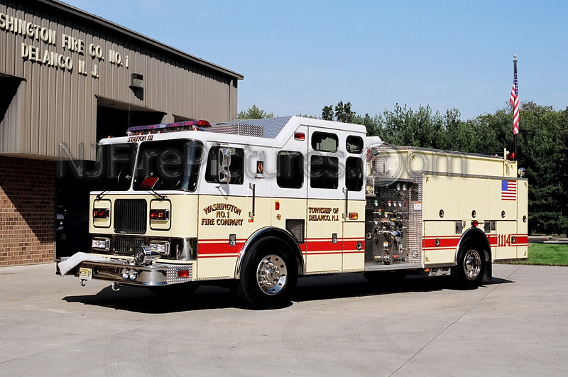 DELANCO ENGINE 1114 - 1998 SEAGRAVE 1500/750