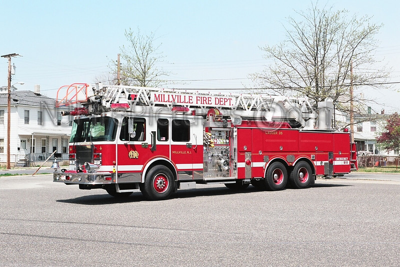 MILLVILLE, NJ LADDER 35