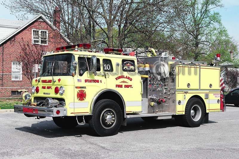 VINELAND, NJ ENGINE 10