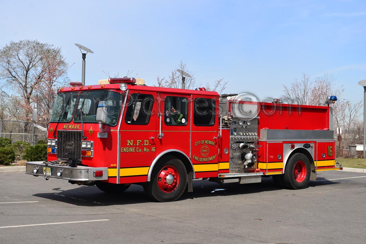 NEWARK, NJ ENGINE 16