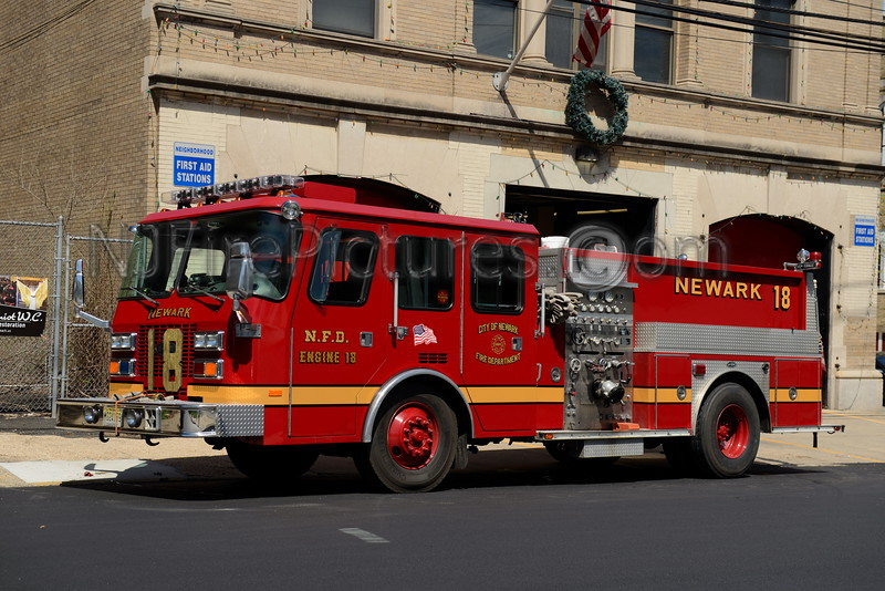 NEWARK , NJ ENGINE 18