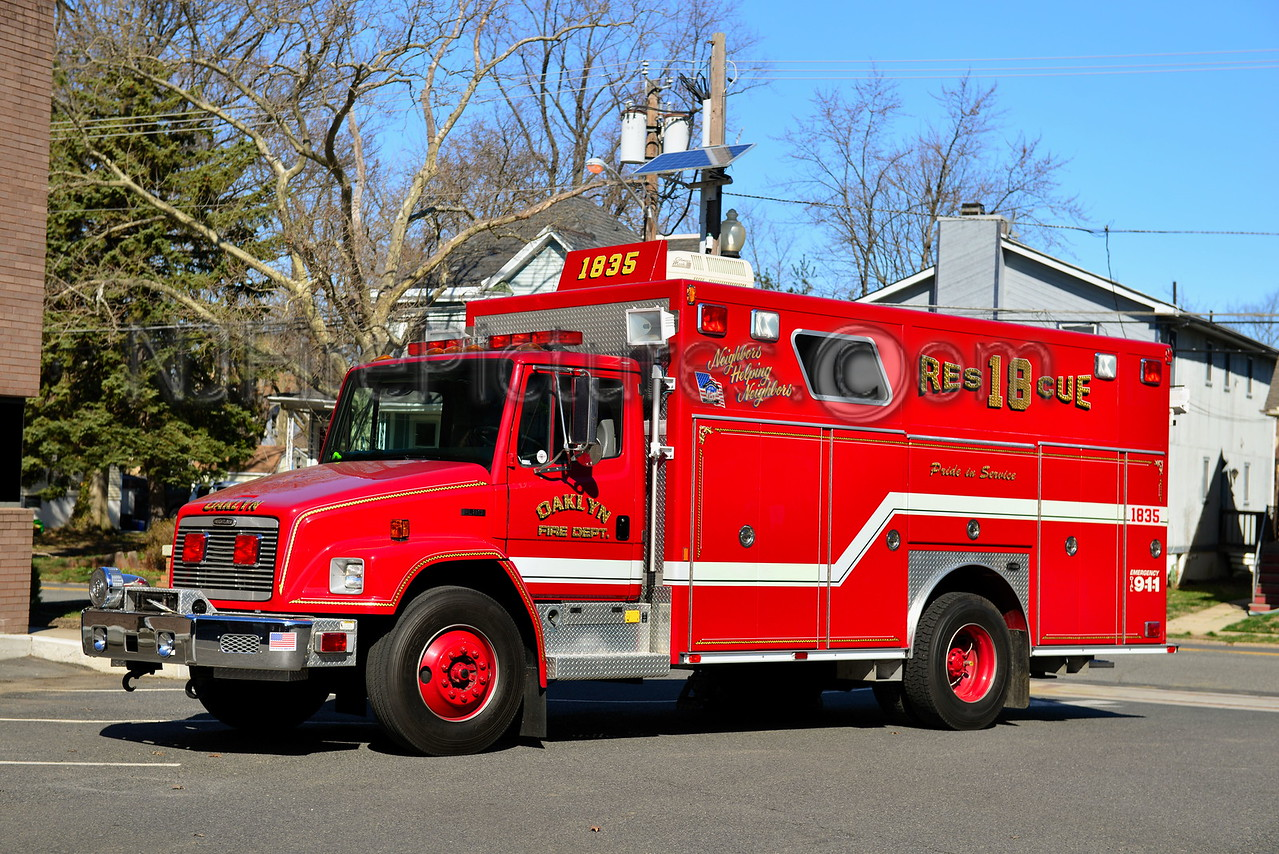 OAKLYN NJ RESCUE 1835