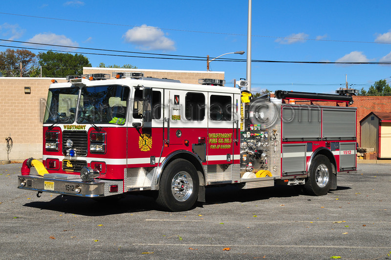 HADDON TOWNSHIP, NJ ENGINE 1512 - WESTMONT FIRE CO.