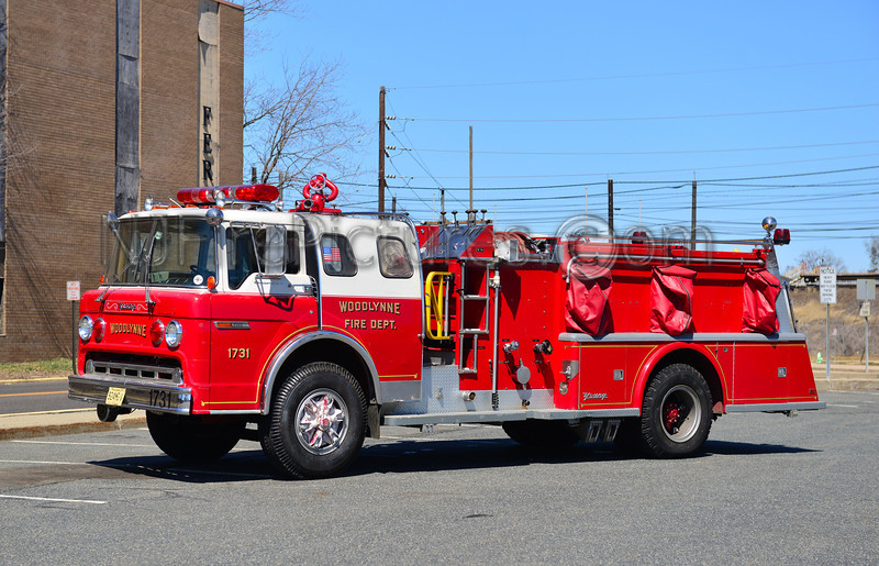 WOODLYNNE NJ ENGINE 1731
