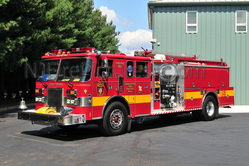GLOUCESTER TOWNSHIP, NJ ENGINE 851 - LAMBS TERRACE