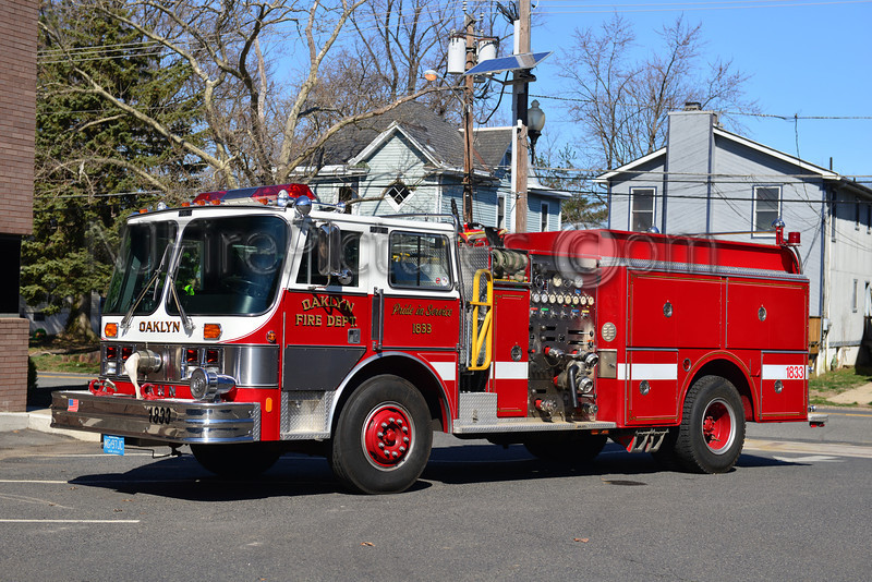 OAKLYN NJ ENGINE 1833