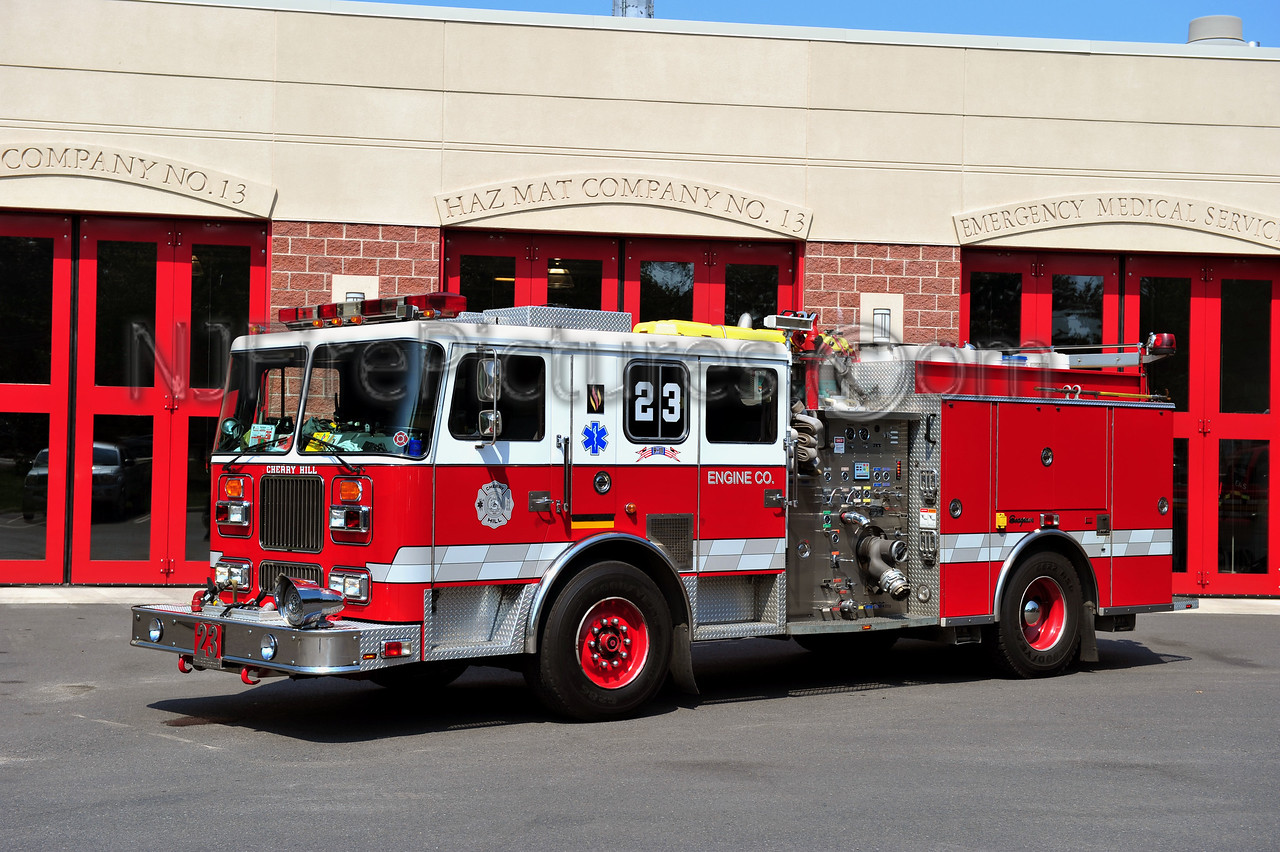 CHERRY HILL ENGINE 13-23 - 1997 SEAGRAVE 1500/500