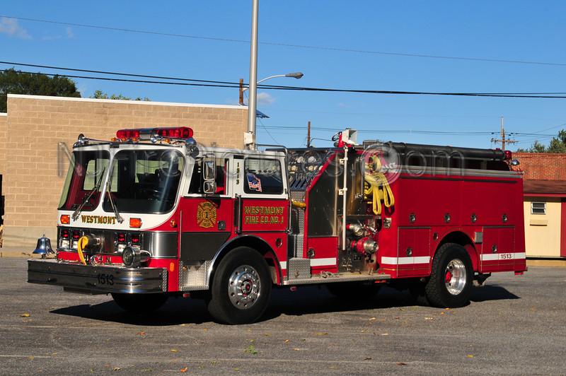 HADDON TOWNSHIP, NJ ENGINE 1513 - WESTMONT FIRE CO.