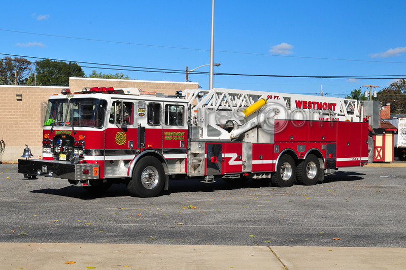 HADDON TOWNSHIP, NJ LADDER 1514 - WESTMONT FIRE CO.