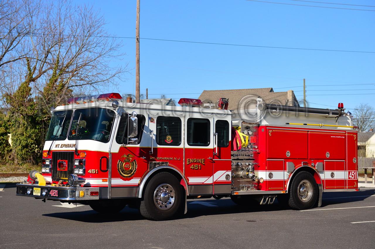 MT. EPHRAIM NJ ENGINE 451