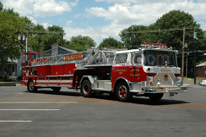 OAKLYN, NJ LADDER 1834