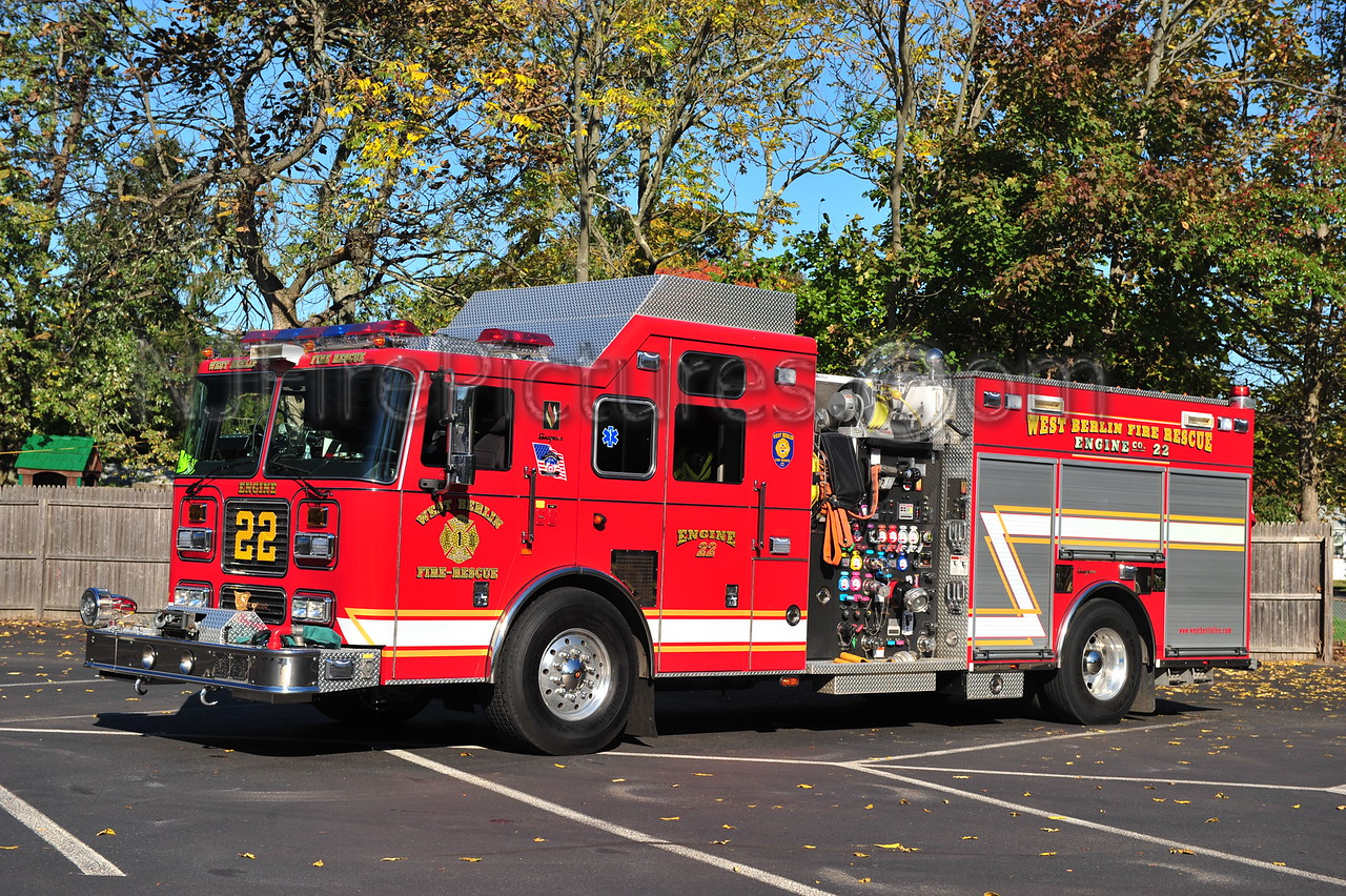 WEST BERLIN ENGINE 22 - 2007 SEAGRAVE 2000/750/100