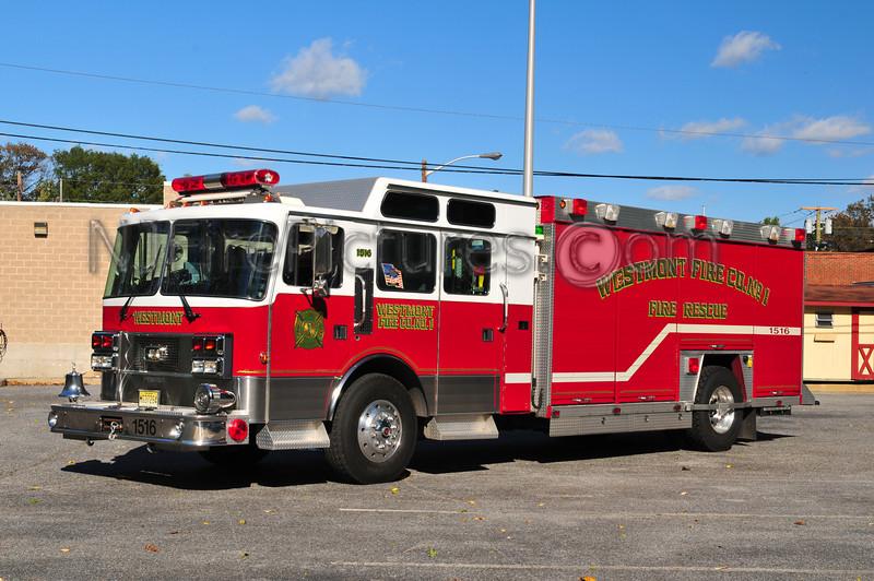 HADDON TOWNSHIP, NJ RESCUE 1516 WESTMONT FIRE CO.