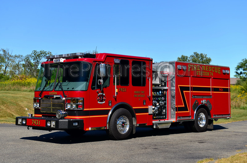 MIDDLE TWP, NJ ENGINE 7431 GOSHEN FIRE CO.