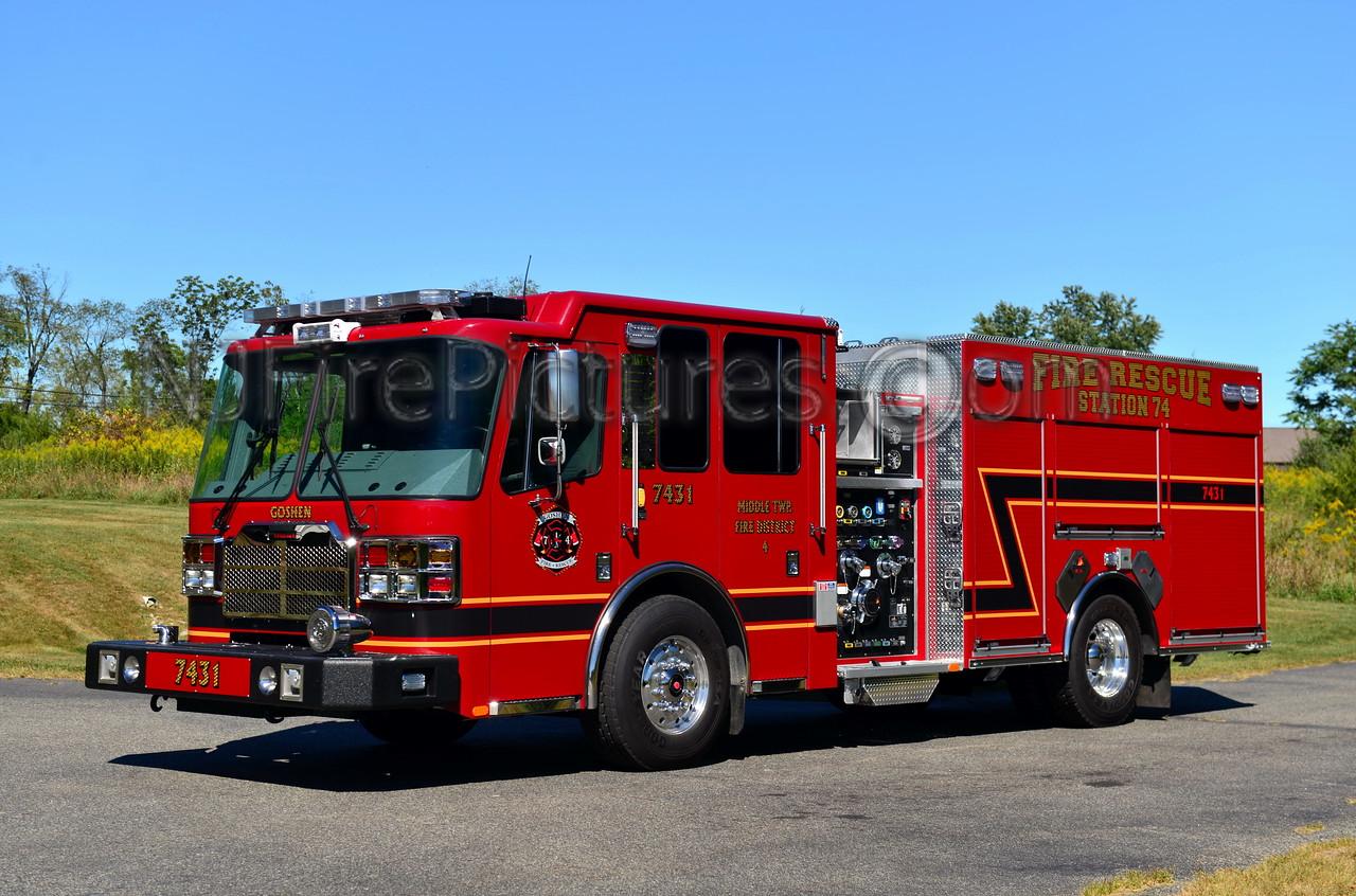 MIDDLE TWP, NJ ENGINE 7431 GOSHEN FIRE CO.