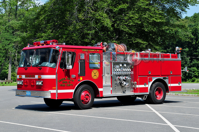 ESSEX FELLS ENGINE 2 - 1989 EMERGENCY ONE 1500/750 (REPLACED BY NEW KME)