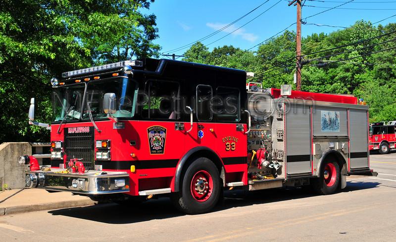 Maplewood Engine 33 - 2001 Spartan/Luverne 1500/500