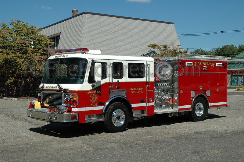 Livingston - Engine 2 - 2005 American LaFrance 1500/500/40