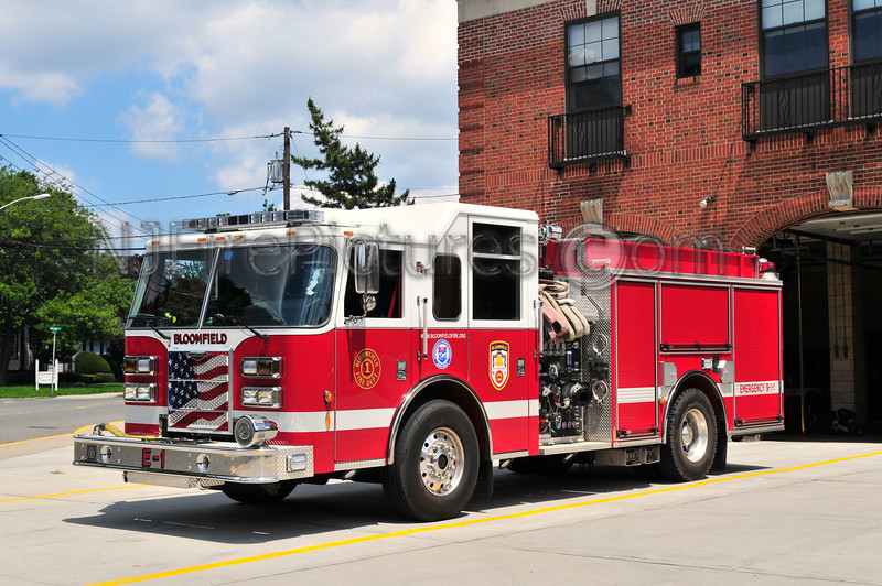 BLOOMFIELD, NJ ENGINE 1 - 2005 PIERCE CONTENDER 1500/803