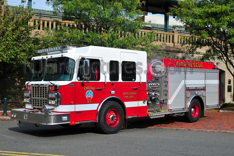 South Orange, NJ Engine 8-5 - 2009 Spartan/Crimson 1500/500