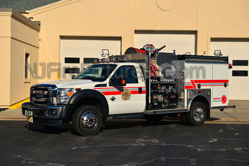 WEST CALDWELL, NJ ENGINE 710 - 2011 FORD F550/CENTRAL STATES/ROSENBAUER 1000/300