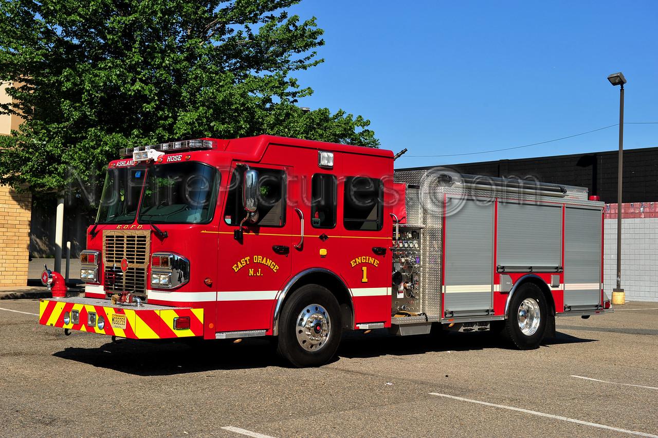 EAST ORANGE, NJ ENGINE 1 - 2011 SPARTAN/CRIMSON 1500/500