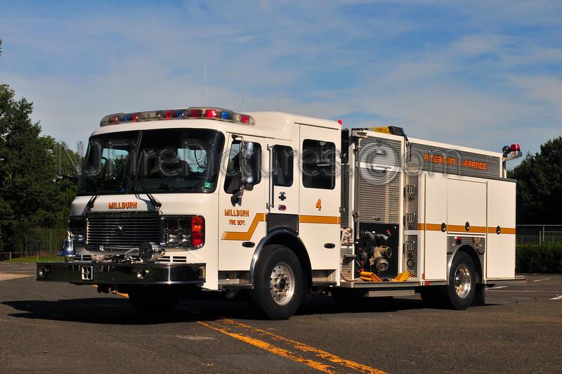 Millburn, NJ Engine 4 - 2004 American LaFrance 1500/700/20 CAFS