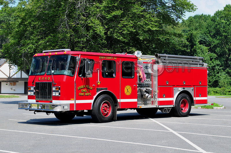 ESSEX FELLS ENGINE 1 - 1998 EMERGENCY ONE 1250/750