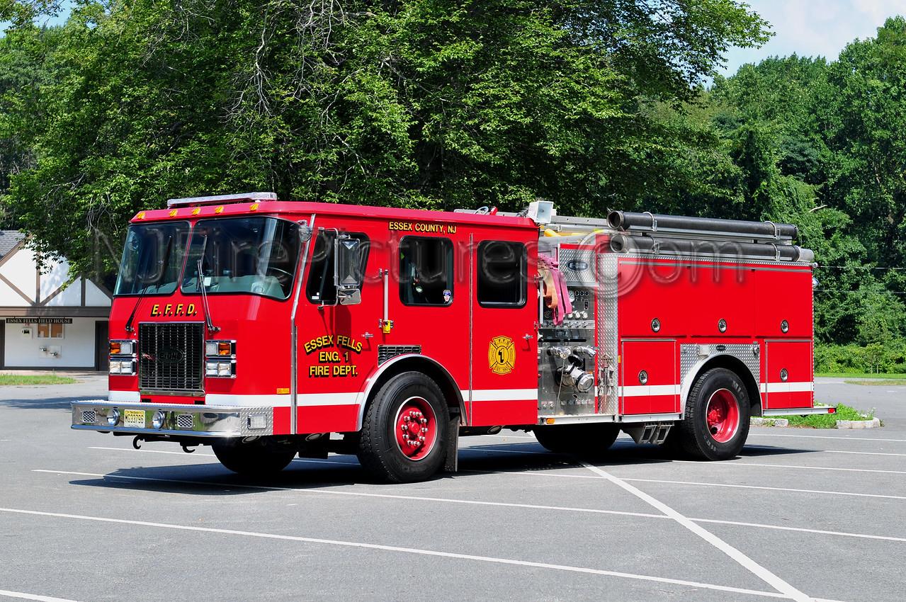 ESSEX FELLS ENGINE 1 - 1998 EMERGENCY ONE 1250/750