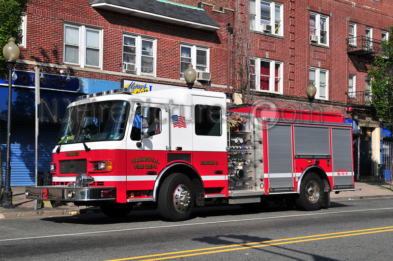 ORANGE, NJ ENGINE 2 - 2007 AMERICAN LAFRANCE LIBERTY 1500/750/50
