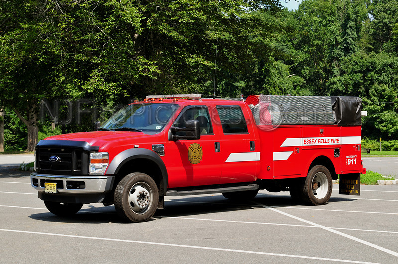 ESSEX FELLS UTILITY 3 - 2008 FORD F450/STAHL 350/225/10F