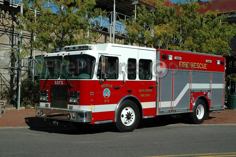 South Orange - Rescue 8-8 - 2005 Spartan/Rescue 1