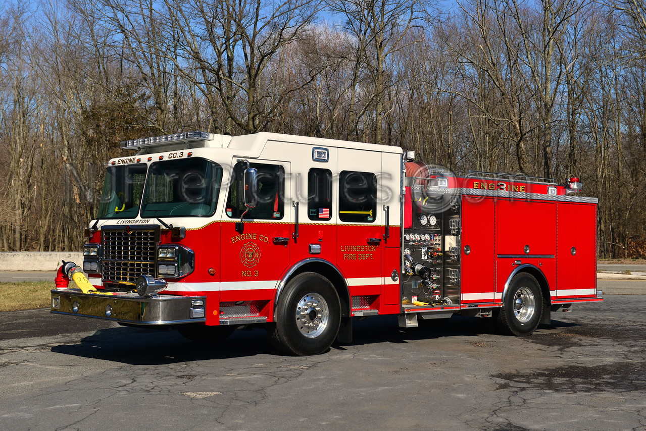 LIVINGSTON, NJ ENGINE 3 - 2012 SPARTAN/CRIMSON 1500/500