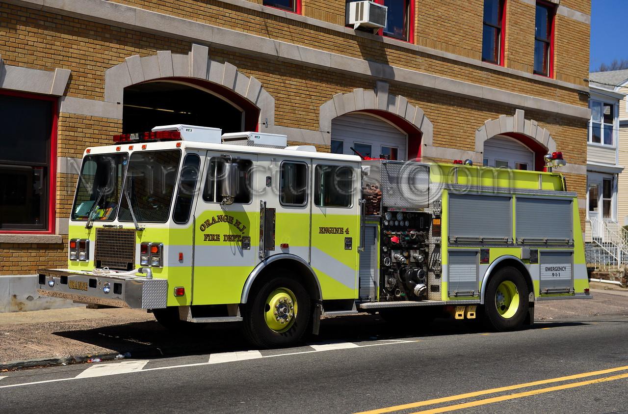 ORANGE NJ ENGINE 4