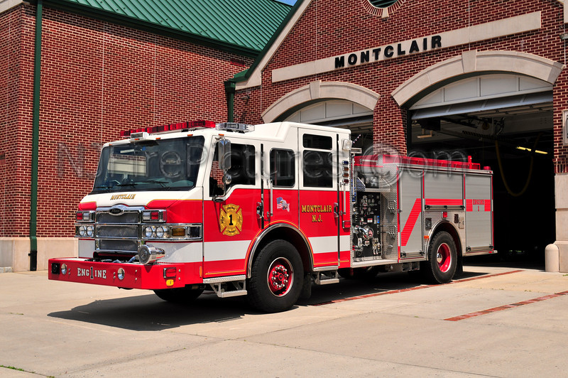 MONTCLAIR, NJ ENGINE 1 - 2007 PIERCE VELOCITY 1500/500