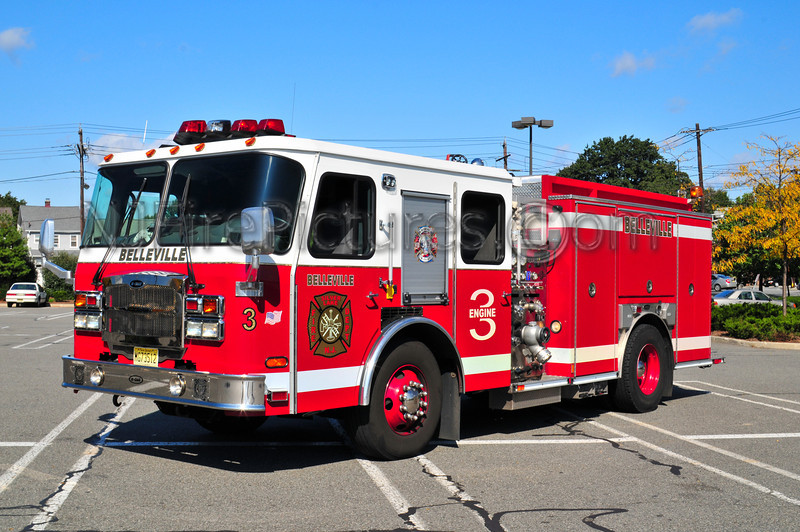 Belleville, NJ Engine 3 - 2006 Emergency One Typhoon 1500/500