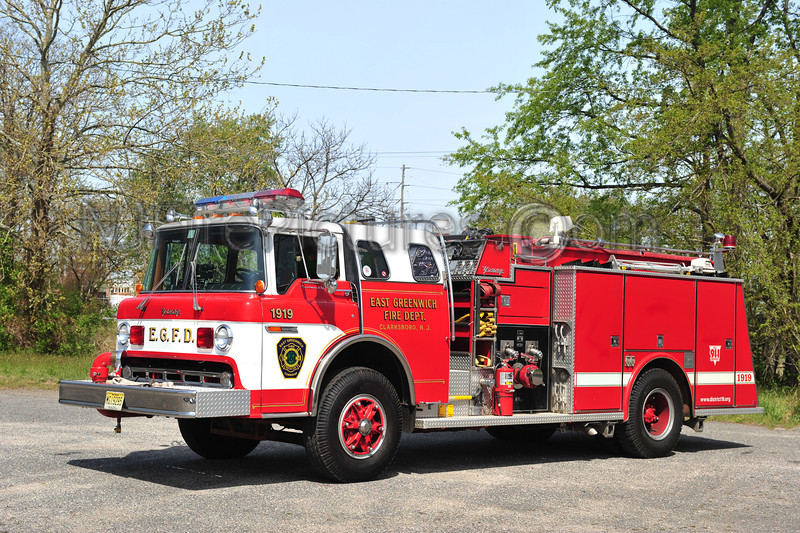 EAST GREENWICH ENGINE 1919 - 1986 FORD C8000/YOUNG 1000/750