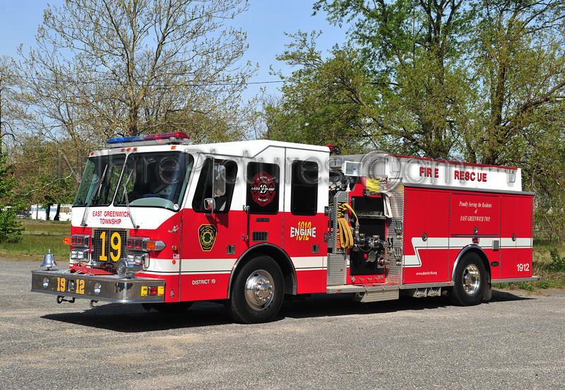 EAST GREENWICH ENGINE 1912 - 1997 SIMON DUPLEX/LUVERNE 1500/750
