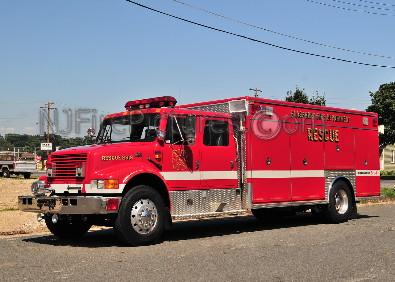 Glassboro Rescue 2618 - 1994 International/EVI