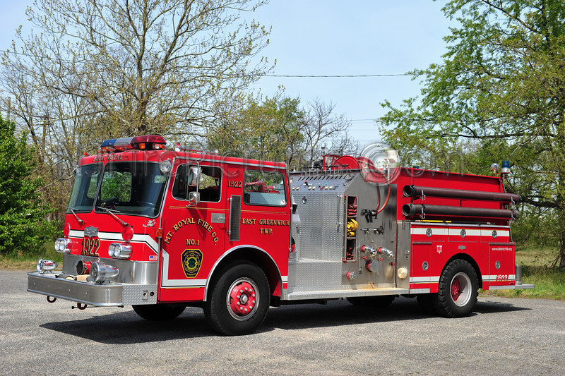 EAST GREENWICH ENGINE 1922 - 1983 PIRSCH 1250/1000
