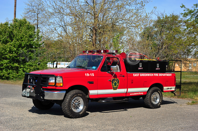 EAST GREENWICH BRISH 1915 - 1996 FORD F250/WORKHORSE SKID 250/200