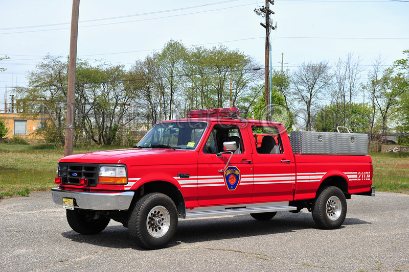 GREENWICH TWP (GIBBSTOWN FIRE CO.) UTILITY 2117 - 1996 FORD F250