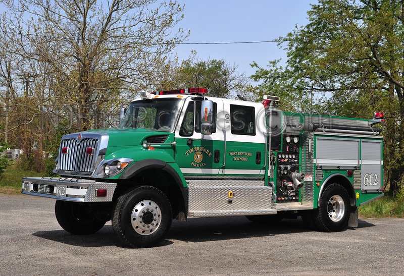 WEST DEPTFORD TWP (THOROFARE FC) ENGINE 612 - 2007 INTERNATIONAL/SEAGRAVE 750/500