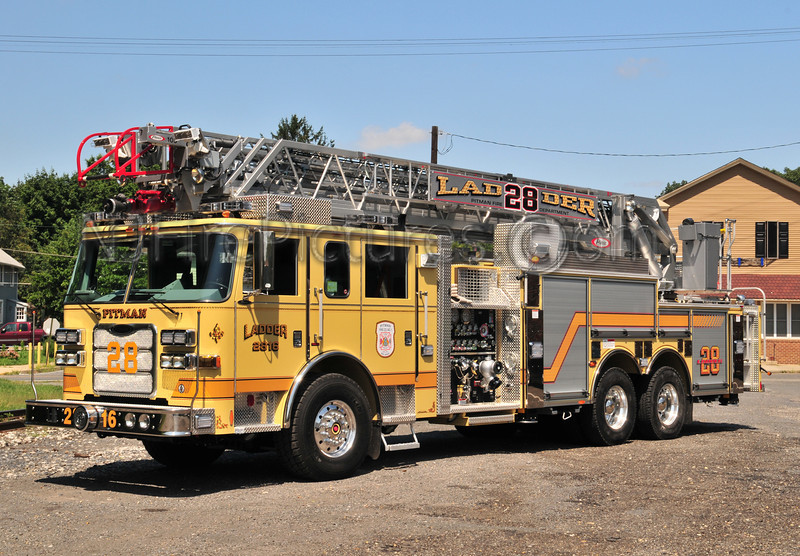 Pitman Ladder 28 - 2009 Pierce Arrow XT 2000/500/105'