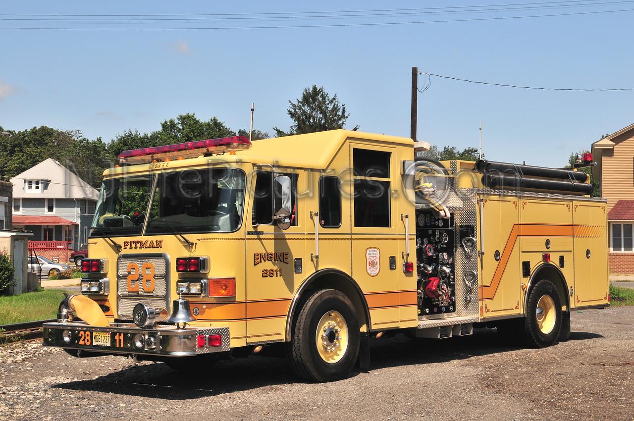Pitman Engine 2811 - 2004 Pierce Enforcer 1500/500